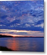 Blue Clouds Metal Print