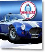 Blue Cobra Metal Print by Rod Seel