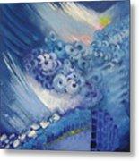 Blue Concerto 2 Metal Print