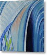 Blue Concerto 3 Metal Print
