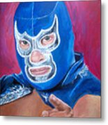 Blue Demon Metal Print