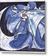 Blue Derwish Metal Print