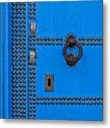 Blue Door Accents Metal Print