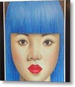 Blue Dream 78x55 Metal Print