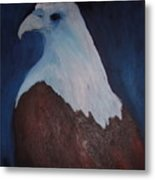 Blue Eagle Metal Print