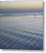 Evening Blue Metal Print