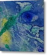 Blue Eye Metal Print