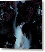 Blue Falls Metal Print