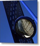 Blue For The Day Metal Print