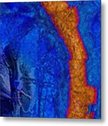 Blue Force Metal Print