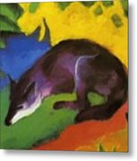 Blue Fox 1911 Metal Print