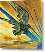 Blue Genesis   Metal Print