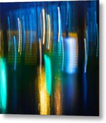 Blue Ghosts Metal Print