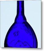 Blue Ginny Metal Print