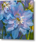Blue Glory Metal Print