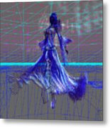 Blue Grace Metal Print