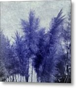 Blue Grass Metal Print
