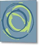 Blue Green 1 Metal Print