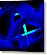 Blue Guitar 2 Metal Print