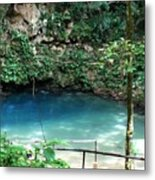 Blue Hole National Park Metal Print