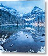 Blue Hour At Lake O'hara Metal Print
