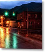 Blue Hour In Webster Springs Metal Print