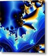 Blue Hue Metal Print