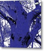 Blue Ice Metal Print