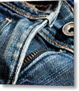 Blue Jeans Metal Print