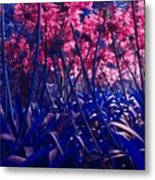 Blue Jungle Metal Print