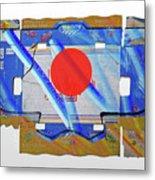 Blue Kimono Metal Print