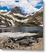 Blue Lake Colorado Metal Print