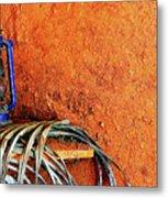 Blue Lantern Metal Print