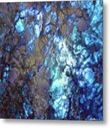 Blue Lightation Metal Print