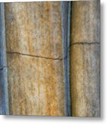 Blue Lines Abstract Metal Print