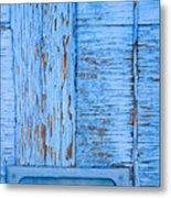 Blue Mail Metal Print