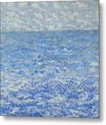 Blue Majesty Metal Print