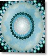 Blue Mandala 5 Metal Print