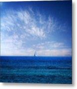 Blue Mediterranean Metal Print by Stelios Kleanthous