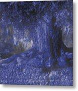 Blue Memories Metal Print