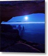 Blue Mesa Arch Metal Print
