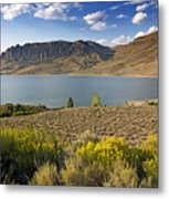 Blue Mesa Lake In Gunnison County Colorado Metal Print