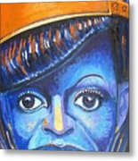 Blue Michelle Metal Print by Michael Owens