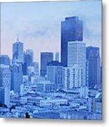 Blue Mist, San Francisco Metal Print