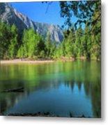 Blue Mood In Yosemite Metal Print