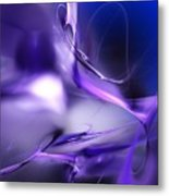 Blue Moon And Wine Spirits Metal Print