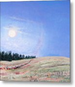 Blue Moon Metal Print by Lucinda  Hansen