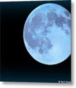 Blue Moonshine Metal Print