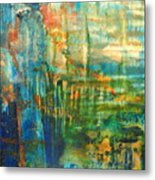 Blue Morning Metal Print