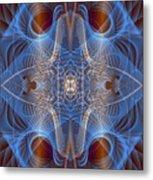 Blue Mosi-oa-tunya 1 Metal Print